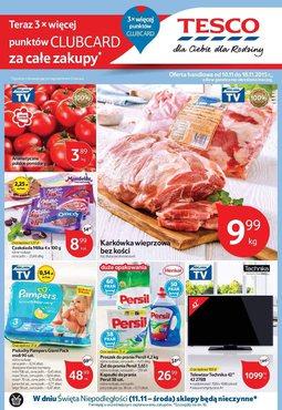Gazetka promocyjna Tesco Hipermarket, ważna od 10.11.2015 do 18.11.2015.