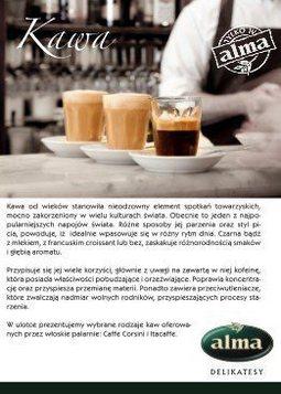 Gazetka promocyjna Alma Delikatesy, ważna od 10.11.2015 do 31.12.2015.