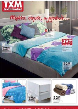 Gazetka promocyjna Textil Market, ważna od 12.11.2015 do 24.11.2015.