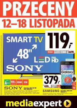 Gazetka promocyjna Media Expert, ważna od 12.11.2015 do 18.11.2015.