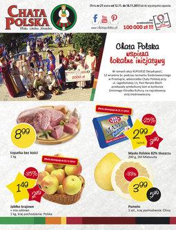Gazetka promocyjna Chata Polska, ważna od 12.11.2015 do 18.11.2015.