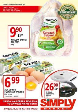 Gazetka promocyjna Simply Market, ważna od 12.11.2015 do 18.11.2015.