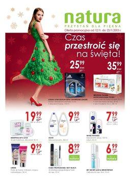 Gazetka promocyjna Drogerie Natura, ważna od 12.11.2015 do 25.11.2015.
