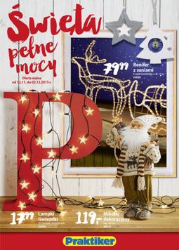 Gazetka promocyjna Praktiker, ważna od 12.11.2015 do 02.12.2015.