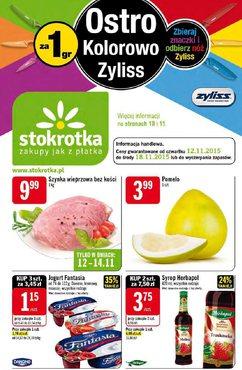 Gazetka promocyjna Stokrotka, ważna od 12.11.2015 do 18.11.2015.