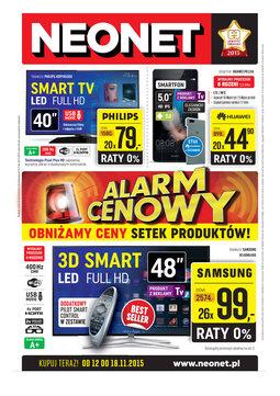 Gazetka promocyjna Neonet, ważna od 12.11.2015 do 18.11.2015.
