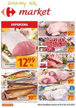 Gazetka promocyjna Carrefour, ważna od 18.11.2015 do 24.11.2015.