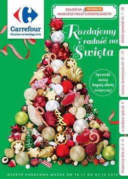 Gazetka promocyjna Carrefour, ważna od 18.11.2015 do 07.12.2015.
