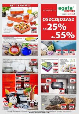 Gazetka promocyjna Agata , ważna od 16.11.2015 do 29.11.2015.