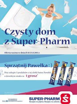 Gazetka promocyjna Super-Pharm, ważna od 18.11.2015 do 25.11.2015.