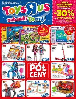 Gazetka promocyjna Toys''R''Us, ważna od 19.11.2015 do 25.11.2015.