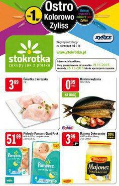 Gazetka promocyjna Stokrotka, ważna od 19.11.2015 do 25.11.2015.