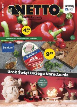 Gazetka promocyjna Netto, ważna od 23.11.2015 do 29.11.2015.