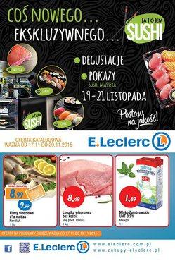 Gazetka promocyjna E.Leclerc, ważna od 17.11.2015 do 29.11.2015.
