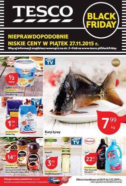 Gazetka promocyjna Tesco Hipermarket, ważna od 26.11.2015 do 02.12.2015.