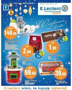 Gazetka promocyjna E.Leclerc, ważna od 24.11.2015 do 30.11.2015.