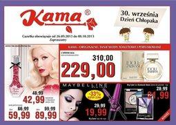 Gazetka promocyjna Kama Beauty, ważna od 26.09.2013 do 08.10.2013.