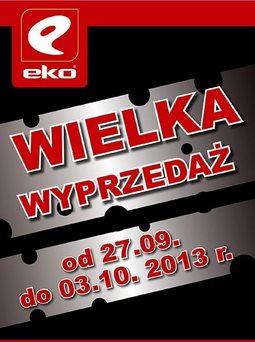 Gazetka promocyjna EKO, ważna od 27.09.2013 do 03.10.2013.