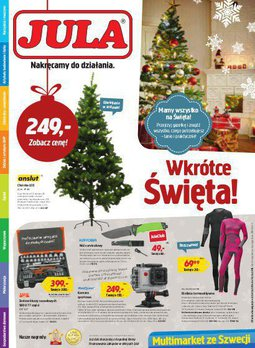 Gazetka promocyjna Jula, ważna od 02.12.2015 do 15.12.2015.
