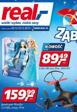 Gazetka promocyjna Real, ważna od 03.12.2015 do 16.12.2015.