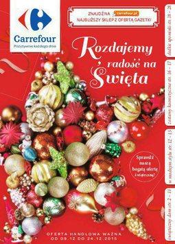 Gazetka promocyjna Carrefour, ważna od 09.12.2015 do 24.12.2015.