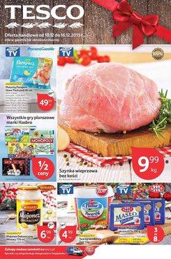 Gazetka promocyjna Tesco Hipermarket, ważna od 10.12.2015 do 16.12.2015.