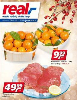 Gazetka promocyjna Real, ważna od 09.12.2015 do 20.12.2015.