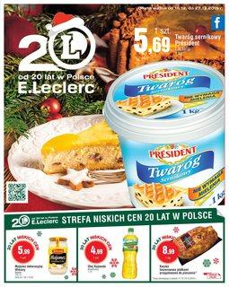 Gazetka promocyjna E.Leclerc, ważna od 15.12.2015 do 27.12.2015.