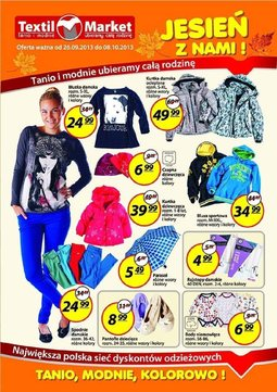 Gazetka promocyjna Textil Market, ważna od 26.09.2013 do 08.10.2013.