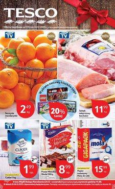 Gazetka promocyjna Tesco Hipermarket, ważna od 17.12.2015 do 24.12.2015.