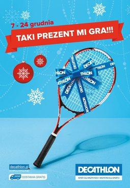 Gazetka promocyjna Decathlon, ważna od 07.12.2015 do 24.12.2015.
