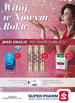 Gazetka promocyjna Super-Pharm, ważna od 27.12.2015 do 06.01.2016.