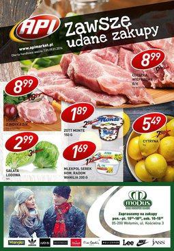 Gazetka promocyjna Api Market, ważna od 07.01.2016 do 19.01.2016.