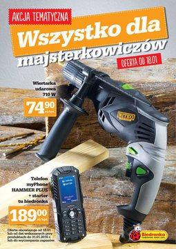 Gazetka promocyjna Biedronka, ważna od 18.01.2016 do 31.01.2016.