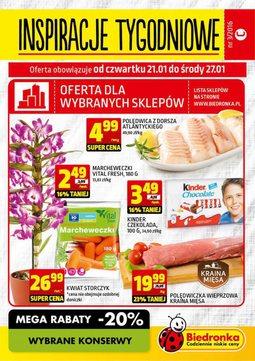 Gazetka promocyjna Biedronka, ważna od 21.01.2016 do 27.01.2016.