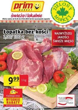 Gazetka promocyjna Prim Market, ważna od 21.01.2016 do 27.01.2016.