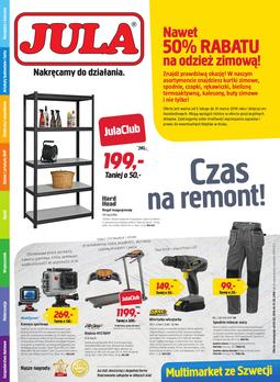 Gazetka promocyjna Jula, ważna od 05.02.2016 do 21.02.2016.
