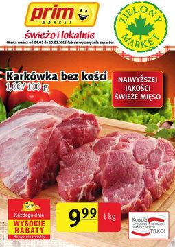 Gazetka promocyjna Prim Market, ważna od 28.01.2016 do 10.02.2016.