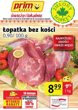 Gazetka promocyjna Prim Market, ważna od 18.02.2016 do 24.02.2016.