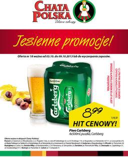 Gazetka promocyjna Chata Polska, ważna od 03.10.2013 do 09.10.2013.