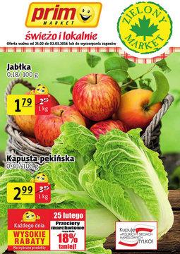 Gazetka promocyjna Prim Market, ważna od 25.02.2016 do 02.03.2016.