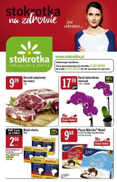 Gazetka promocyjna Stokrotka, ważna od 03.03.2016 do 09.03.2016.