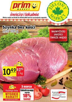 Gazetka promocyjna Prim Market, ważna od 03.03.2016 do 09.03.2016.