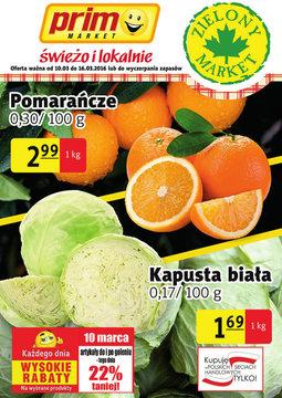 Gazetka promocyjna Prim Market, ważna od 10.03.2016 do 16.03.2016.