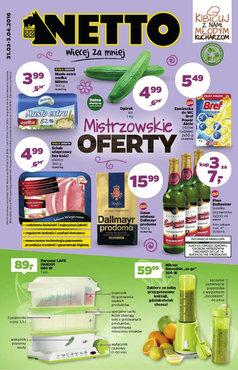 Gazetka promocyjna Netto, ważna od 31.03.2016 do 03.04.2016.