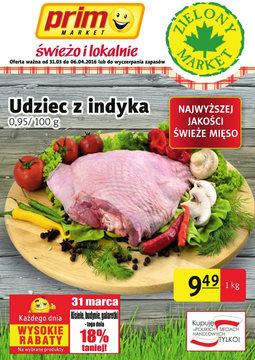 Gazetka promocyjna Prim Market, ważna od 31.03.2016 do 06.04.2016.