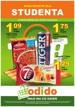 Gazetka promocyjna ODIDO, ważna od 01.04.2016 do 14.04.2016.
