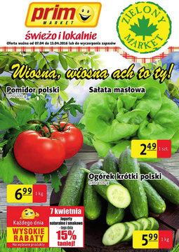 Gazetka promocyjna Prim Market, ważna od 07.04.2016 do 13.04.2016.