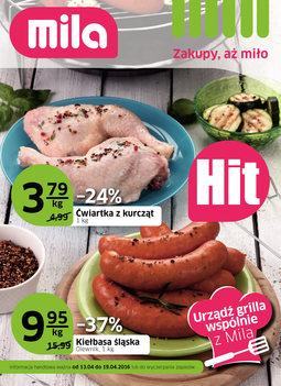 Gazetka promocyjna MILA, ważna od 13.04.2016 do 19.04.2016.