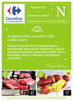 Gazetka promocyjna Carrefour, ważna od 20.04.2016 do 02.05.2016.